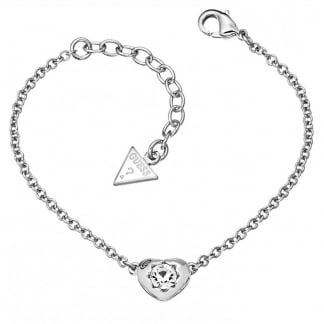 Ladies 'Crystals Of Love' Silver Bracelet