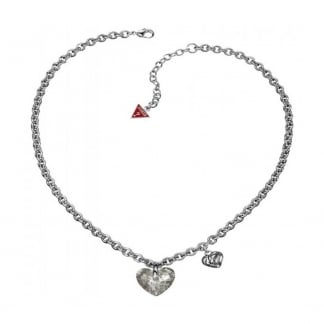 Ladies 'Curve Appeal' Crystal Heart Bracelet