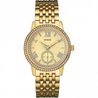 Ladies Gramercy Gold Tone Bracelet Watch W0573L2