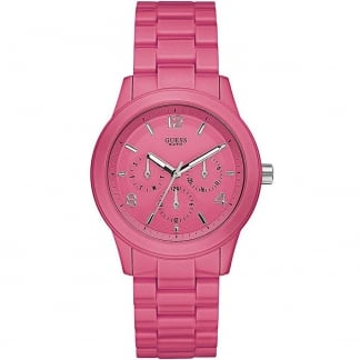Ladies Hot Pink Mini Spectrum Watch
