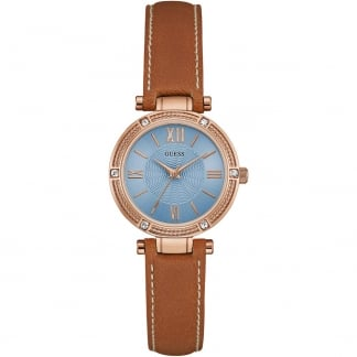 Ladies Park Ave South Tan Strap Watch