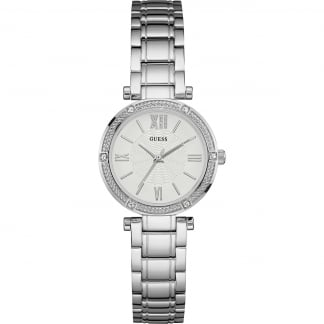 Ladies Park Ave South Silver Bracelet Watch W0767L1
