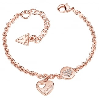 Ladies Rose Gold 'Devotion' Bracelet