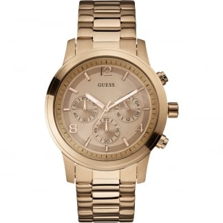 Ladies Rose Gold Spectrum Chronograph Watch W17004L1
