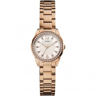 Ladies Rose Gold Tone Temptress Watch W0445L3