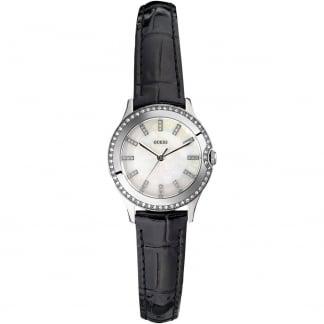 Ladies Skinny Strap Mini Moonbeam Watch W0109L1