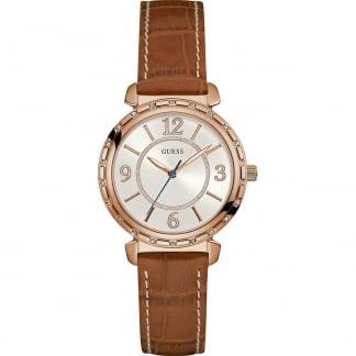 Ladies Southampton Tan Strap Watch W0833L1