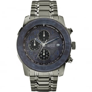 Men's Axle Gunmetal Chronograph Watch
