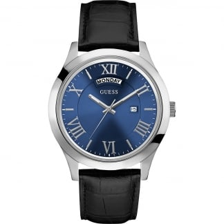 Men's Blue Dial Metropolitan Day/Date Watch W0792G1