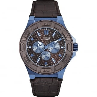 Men's Force Blue Tone Multi-Function Strap Watch