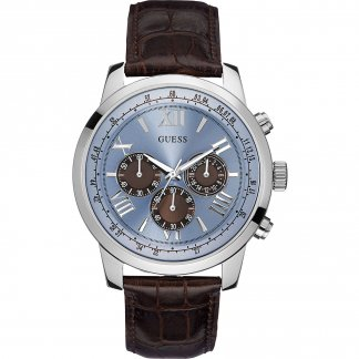 Men's Horizon Blue Chronograph Dial Watch W0380G6
