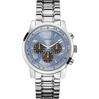 Men's Horizon Ice Blue Chronograph Watch W0379G6