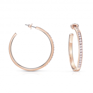 Rose Gold Plated 'G Colours' Hoops