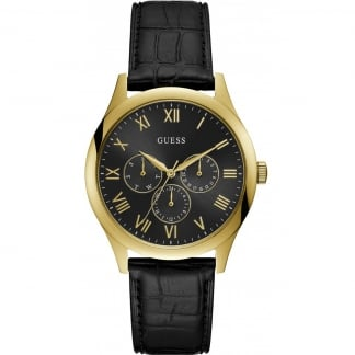 Watson Black/Gold Multifunctional Watch
