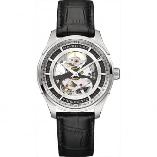 Jazzmaster Viematic Skeleton Gent Auto Watch