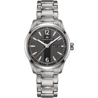 Men's Broadway Day-Date Steel Quartz Watch
