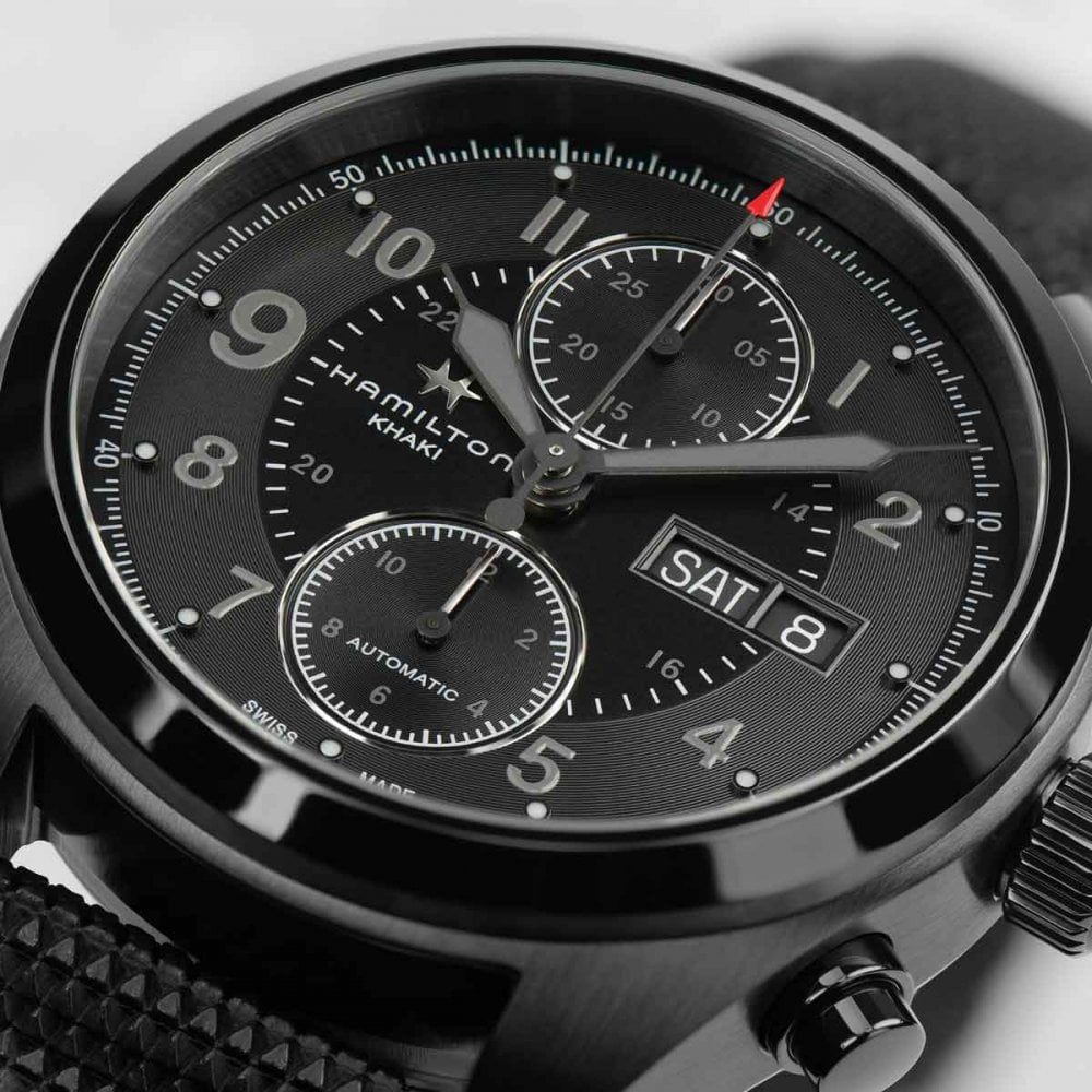 Hamilton Men S Jack Ryan Khaki Field Automatic Watch