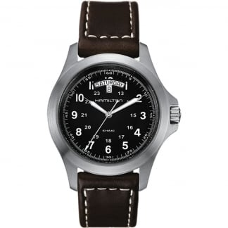 Men's Kkaki Field King Day-Date Quartz Watch