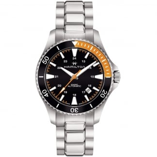 Men's Steel Khaki Navy Scuba Automatic Watch