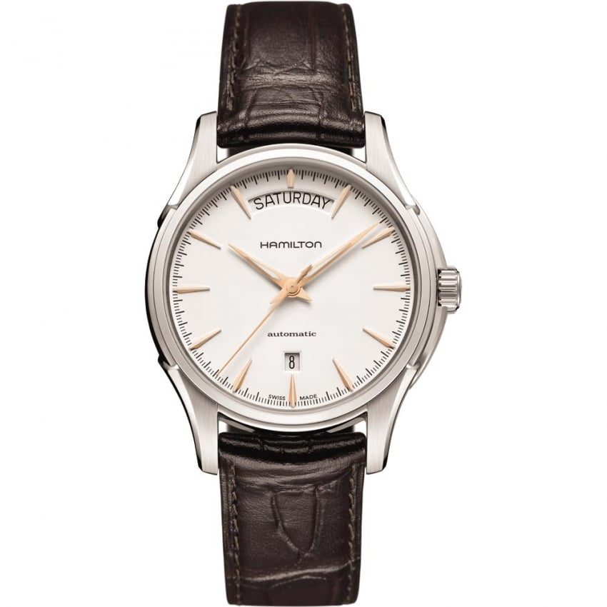 hamilton s jazzmaster day date automatic