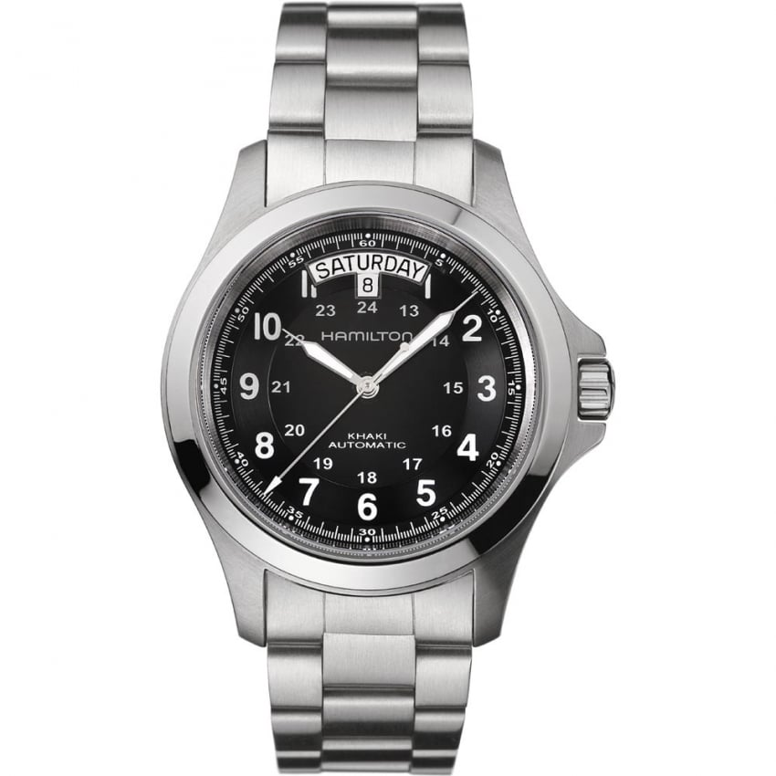 Hamilton Men's Khaki Field Steel King Automatic Watch H64455133