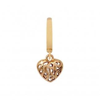 Hearts in Hearts Gold Charm E35251