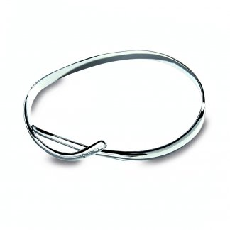 Alluring Silver Flow Bangle DC033