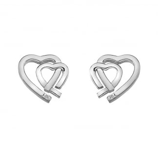 Amore Heart Earring Studs