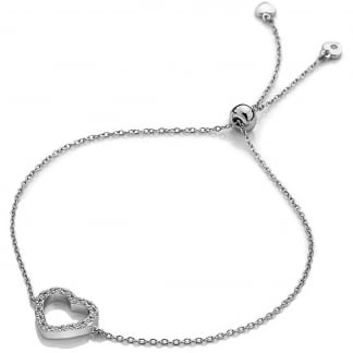 Bliss Heart Drawstring Bracelet