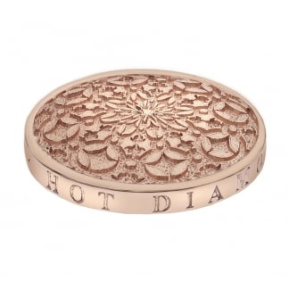 Emozioni 33mm Mystic Map Coin in Rose Gold EC154