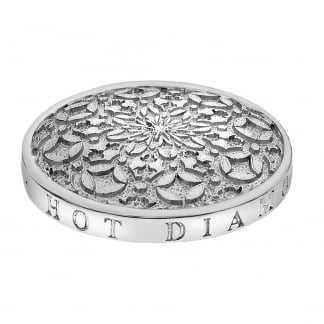 Emozioni 33mm Mystic Map Coin in Silver EC155