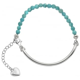 Ladies Trend Turquoise Adjustable Bracelet
