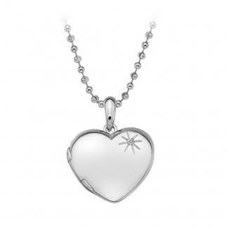 Memoirs Heart Locket Pendant DP495