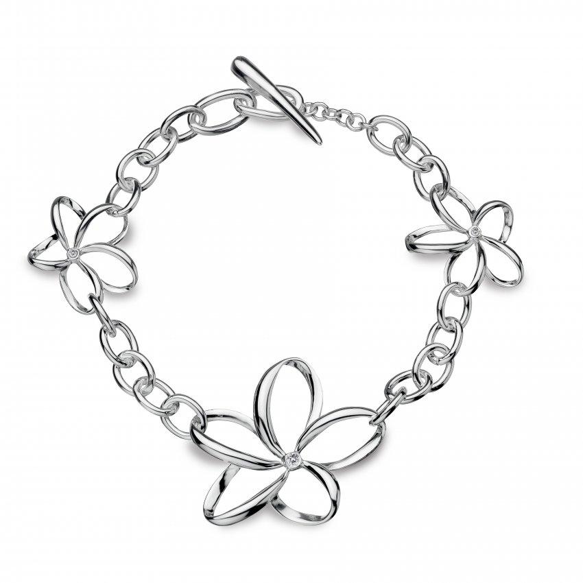 Hot Diamonds Paradise Open Petal Bracelet DL151