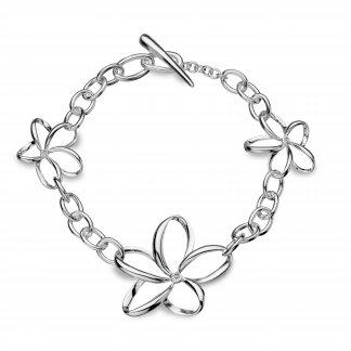 Paradise Open Petal Bracelet DL151