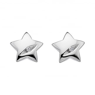 Shooting Star Earring Studs