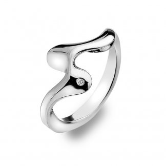 Silver Pirouette Ring - Size N DR145/M