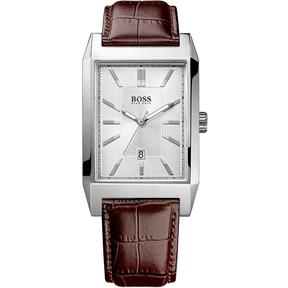 Hugo Boss Classic Men s Leather Strap Quartz Watch Product Code  1512916 a517de604af5