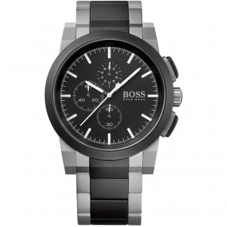 Gent's Rugged Two Tone Chronograph Watch 1512958