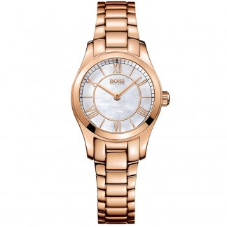Ladies Ambassador Rose Gold Quartz Watch