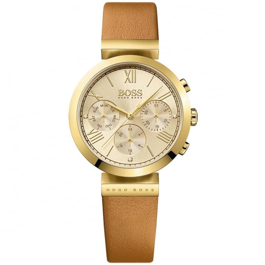 Hugo Boss Ladies Gold Classic Women's Sport Watch 1502396