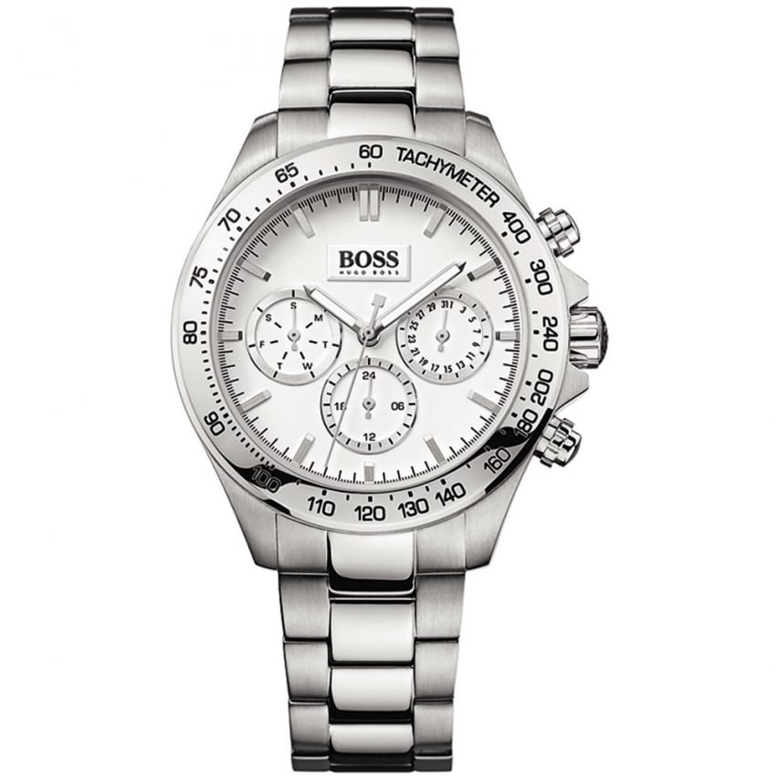 Hugo Boss Ladies Ikon Stainless Steel Chronograph Watch 1502369