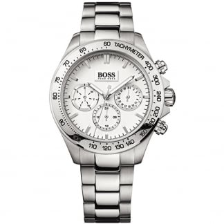 Ladies Ikon Stainless Steel Chronograph Watch 1502369