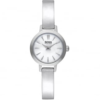 Ladies Mother of Pearl Dial Bangle Watch 1502366