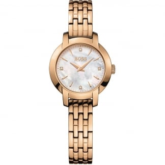 Ladies Rose Gold Success Mother of Pearl Dial Watch 1502379