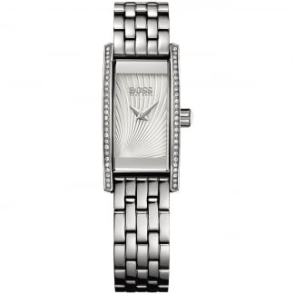Ladies Cocktail Silver Bracelet Watch