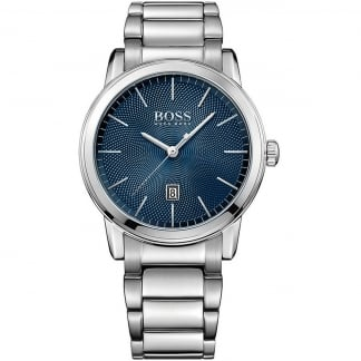 Men's Classic I Blue Dial Bracelet Watch