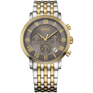Men's Elevation Two Tone Steel Chronograph Watch 1513325