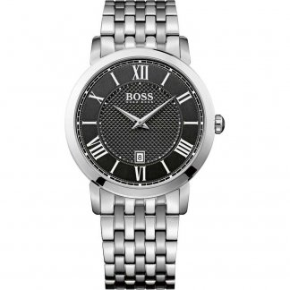 Men's Gentleman Stainless Steel Quartz Watch