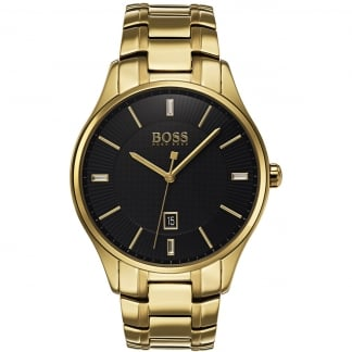 Men's Governor Gold PVD Bracelet Watch
